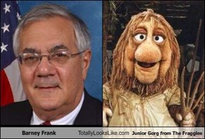 Barney Frank Totally Looks Like Junior Gorg from The Fraggles