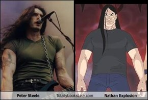 Peter Steele Totally Looks Like Nathan Explosion