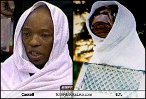 Cassell Totally Looks Like E.T.