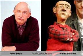 Peter Boyle Totally Looks Like Walter Dunham