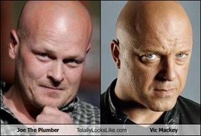 Joe The Plumber Totally Looks Like Vic Mackey