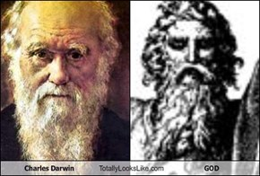 Charles Darwin Totally Looks Like GOD