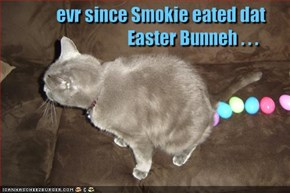 evr since Smokie eated dat