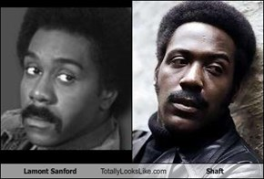 Lamont Sanford Totally Looks Like Shaft