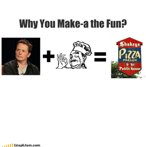 Why You Make-a the Fun?