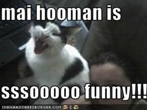 mai hooman is   sssooooo funny!!!