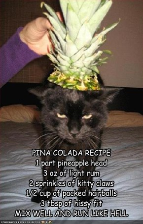 PINA COLADA RECIPE