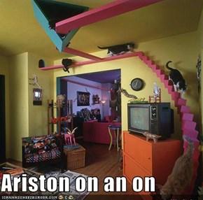 Ariston on an on