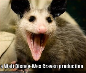 a Walt Disney-Wes Craven production