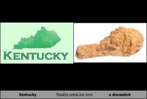 Kentucky Totally Looks Like a drumstick