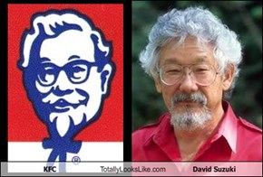 KFC Totally Looks Like David Suzuki