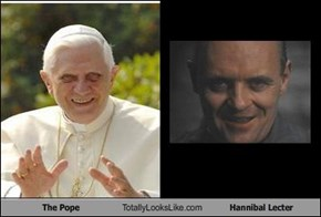 The Pope Totally Looks Like Hannibal Lecter