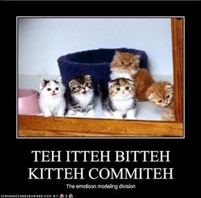 TEH ITTEH BITTEH KITTEH COMMITEH
