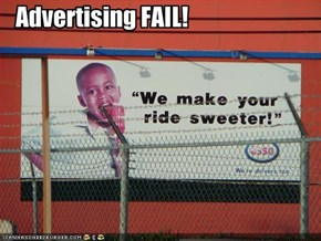 Advertising FAIL!