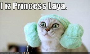 I iz Princess Laya.