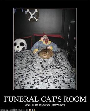 FUNERAL CAT'S ROOM