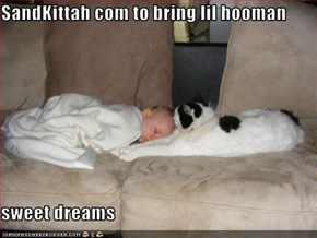 SandKittah com to bring lil hooman  sweet dreams