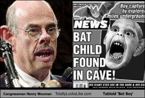 Congressman Henry Waxman Totally Looks Like Tabloid 'Bat Boy'