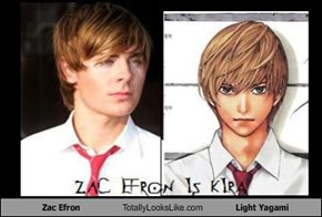 Zac Efron Totally Looks Like Light Yagami