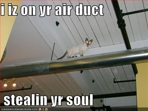 i iz on yr air duct   stealin yr soul