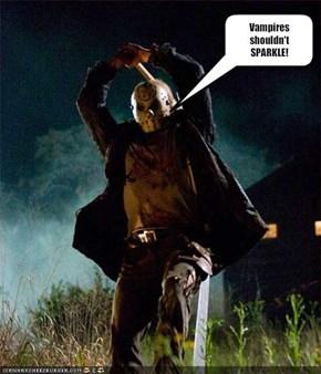 Vampires shouldn't SPARKLE!