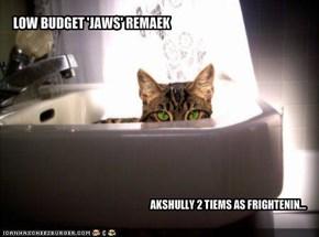 LOW BUDGET 'JAWS' REMAEK