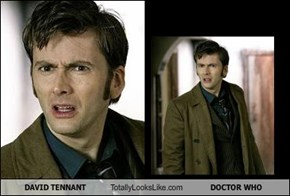 DAVID TENNANT Totally Looks Like DOCTOR WHO