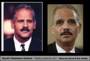 Oprah's Steadman Graham Totally Looks Like Attorney General Eric Holder