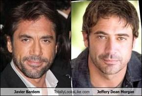 Javier Bardem Totally Looks Like Jeffery Dean Morgan
