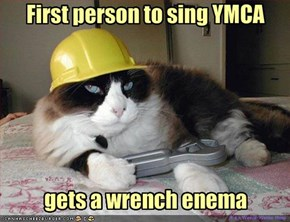First person to sing YMCA