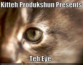 Kitteh Produkshun Presents  Teh Eye