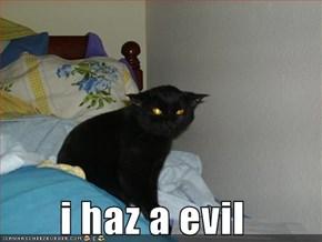 i haz a evil