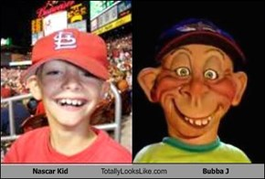 Nascar Kid Totally Looks Like Bubba J