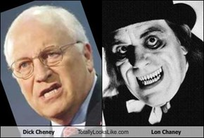 Dick Cheney Totally Looks Like Lon Chaney