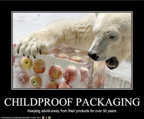 CHILDPROOF PACKAGING