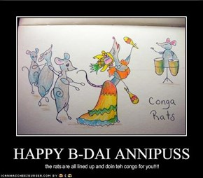 HAPPY B-DAI ANNIPUSS