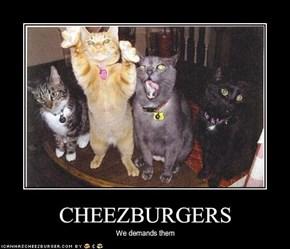 CHEEZBURGERS