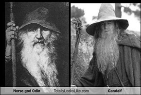 Norse god Odin Totally Looks Like Gandalf