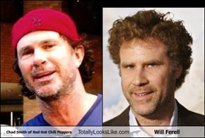 Chad Smith of Red Hot Chili Peppers Totally Looks Like Will Ferell