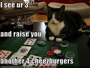 I see ur 3... and raise you another 4 cheezburgers