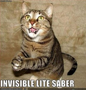 INVISIBLE LITE SABER