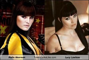 Malin Akerman Totally Looks Like Lucy Lawless