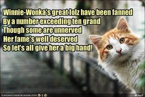 Congrats, Winnie!!!
