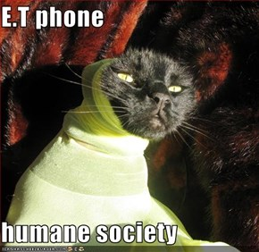 E.T phone  humane society