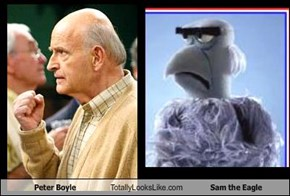 Peter Boyle Totally Looks Like Sam the Eagle