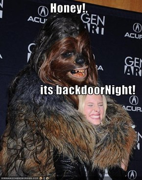 Honey!,  its backdoorNight!