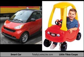 Smart Car Totally Looks Like Little Tikes Coupe