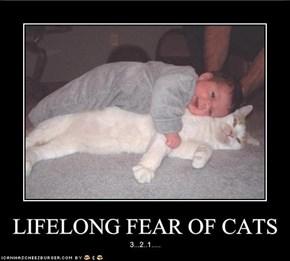 LIFELONG FEAR OF CATS