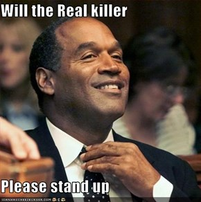 Will the Real killer    Please stand up