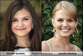 Ginnifer Goodwin Totally Looks Like Jennifer Morrison